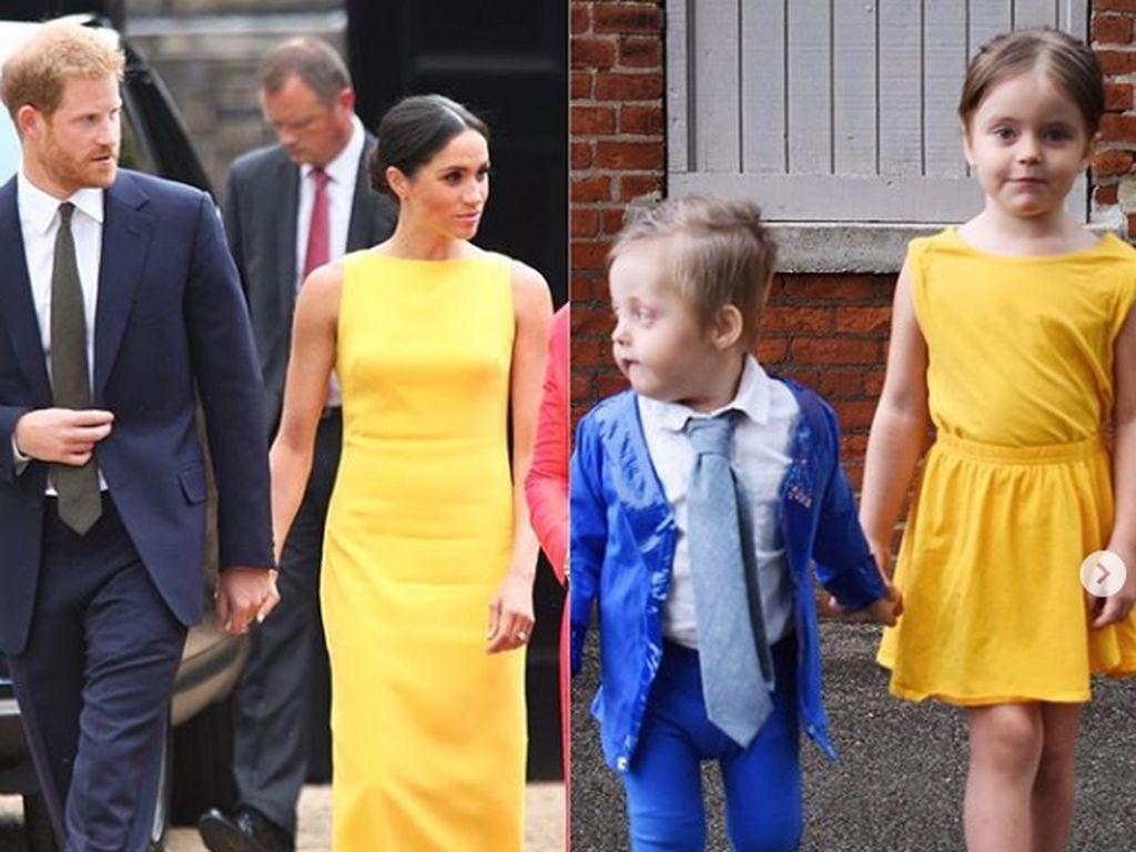 7 Foto Lucu Keluarga Pakai Kostum ala Kerajaan Inggris