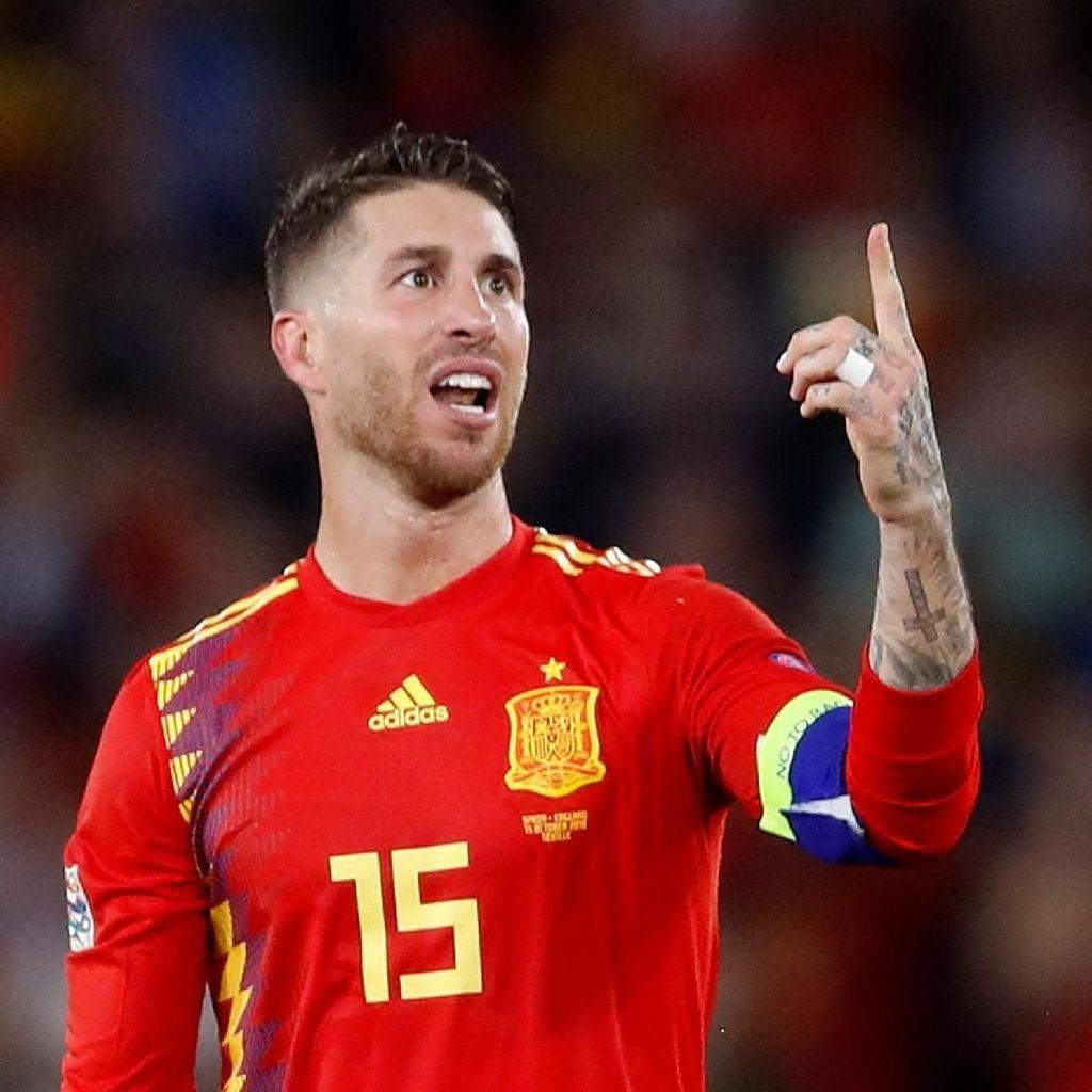 Ramos ke Fans: Jangan Pernah Letih Mendukung Spanyol