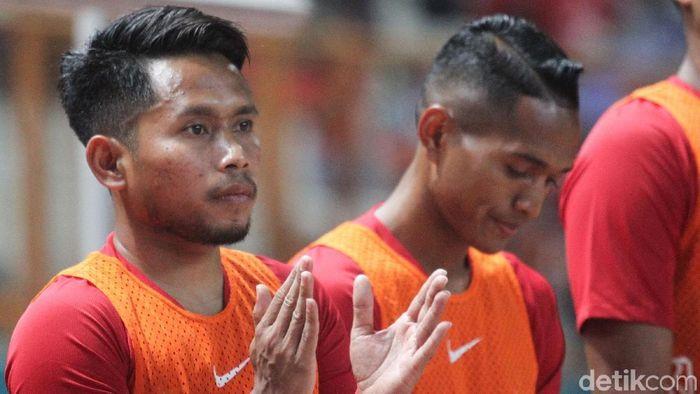 Andik Vermansah menyimpan optimisme usai Indonesia tergabung di grup sulit di Piala Dunia 2022. (Foto: Rifkianto Nugroho/detikSport)