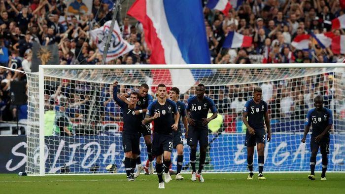 Enam pemain timnas Prancis yang menjuara Piala Dunia 2018 masuk dalam daftar nominasi Ballon dOr 2018 (Foto: Benoit Tessier/REUTERS)