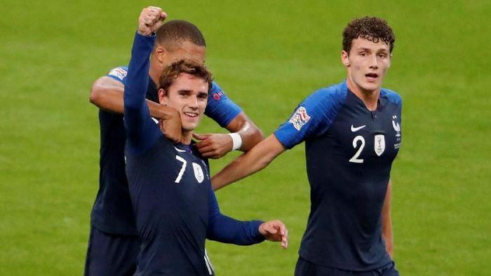 Para pemain Prancis dapat cincin berlian dari Paul Pogba (Charles Platiau/Reuters)