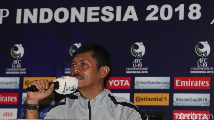 Pelatih timnas Indonesia U-19, Indra Sjafri. (Foto: Ary Saputra/Detikcom)