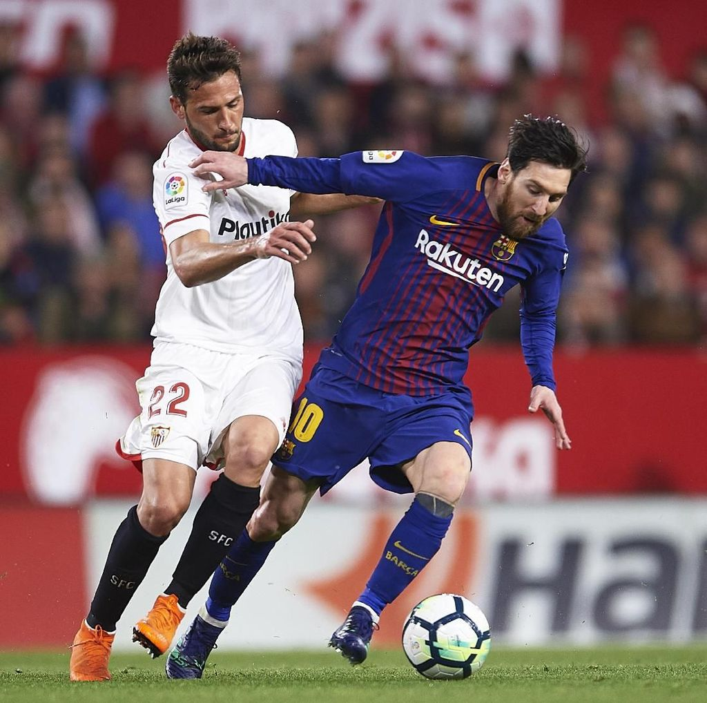 Camp Nou Angker, Sevilla Tak Gentar
