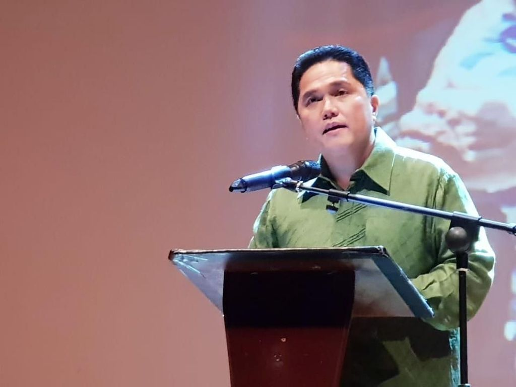 Erick Thohir Ungkap Alasan Ketua Kadin-Ketua Hipmi Dukung Jokowi
