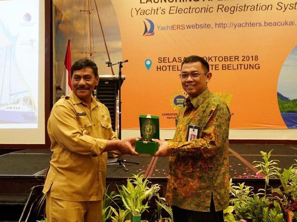 Aplikasi YachtERS Akan Permudah Izin Yacht Masuk Indonesia