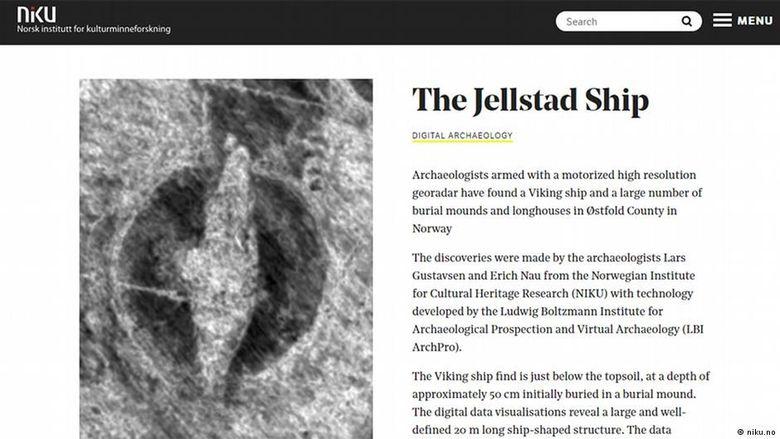 Tim Arkeolog di Norwegia Temukan Kapal Viking dari Zaman Besi