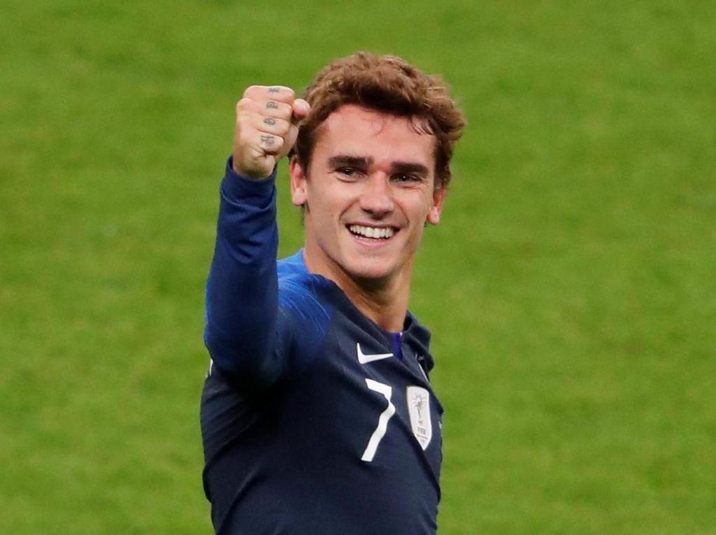 Griezmann Masuk 10 Besar Top Skorer Sepanjang Masa Prancis
