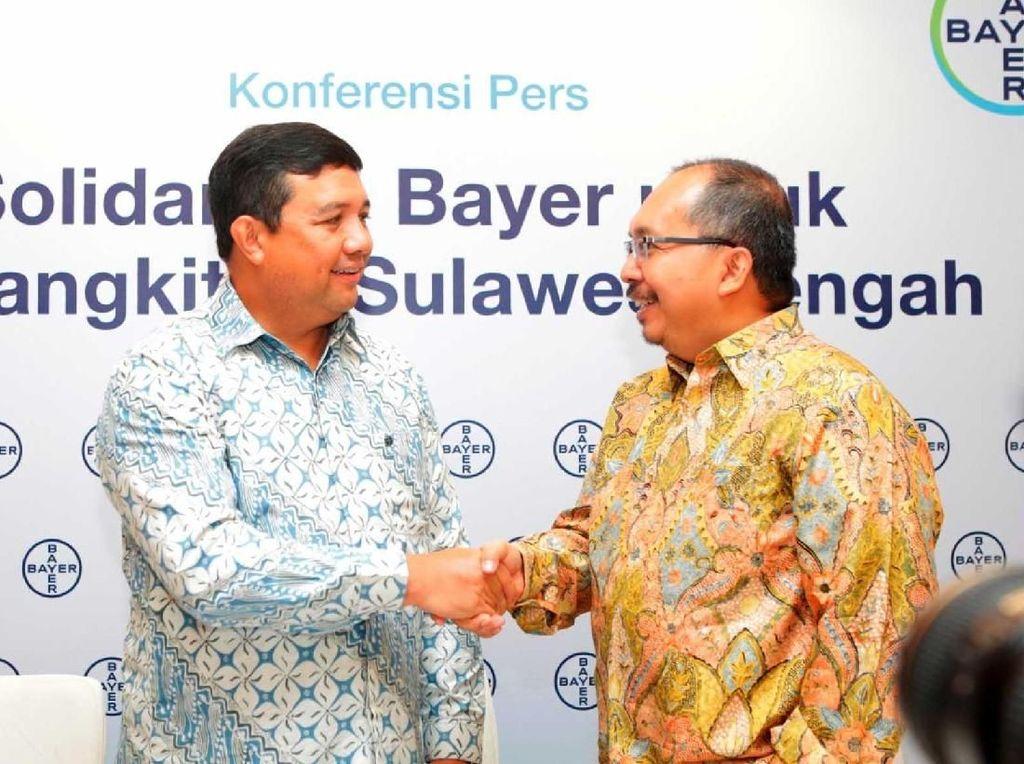 Bantuan Awal Rp 2M untuk Pemulihan Sulteng