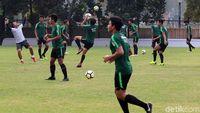 Intip Sesi Latihan Timnas U-19 Jelang Laga Pertama Piala Asia