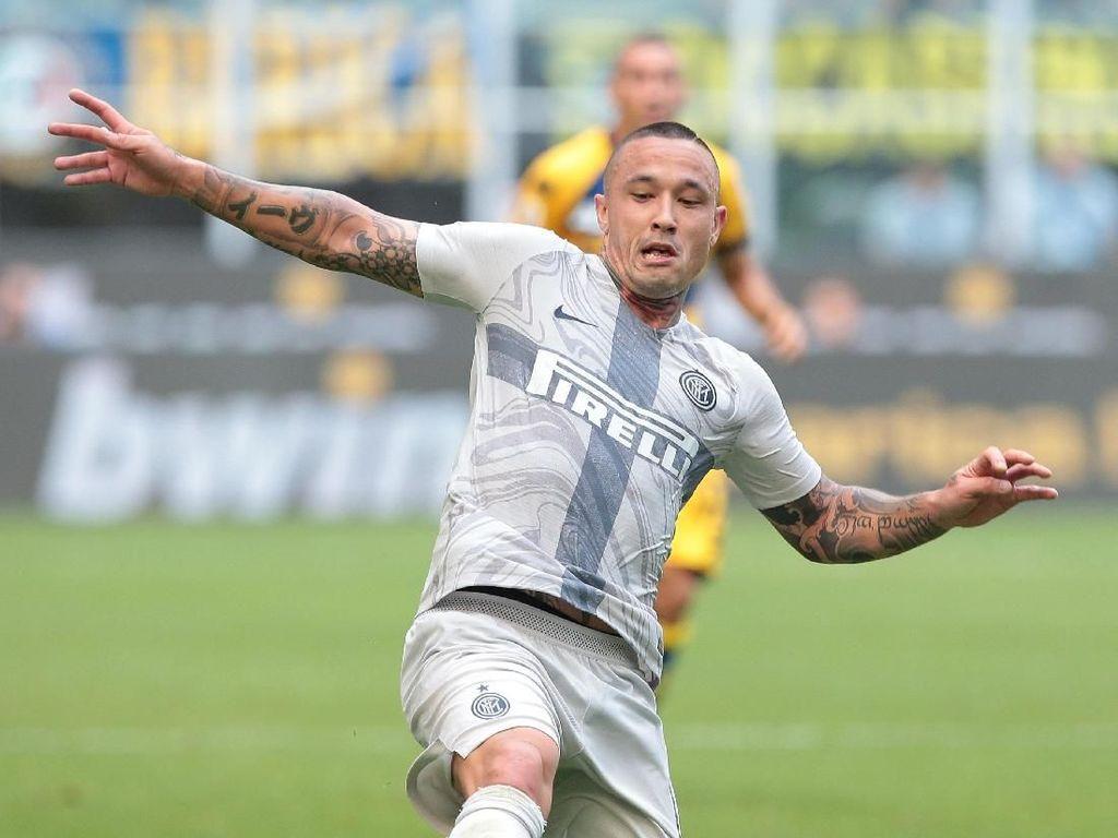 Nainggolan Antusias Sambut Derby Milan Pertama