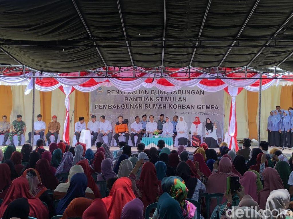 Jokowi Bicara Rumah Tahan Gempa: Kita Tinggal di Ring of Fire