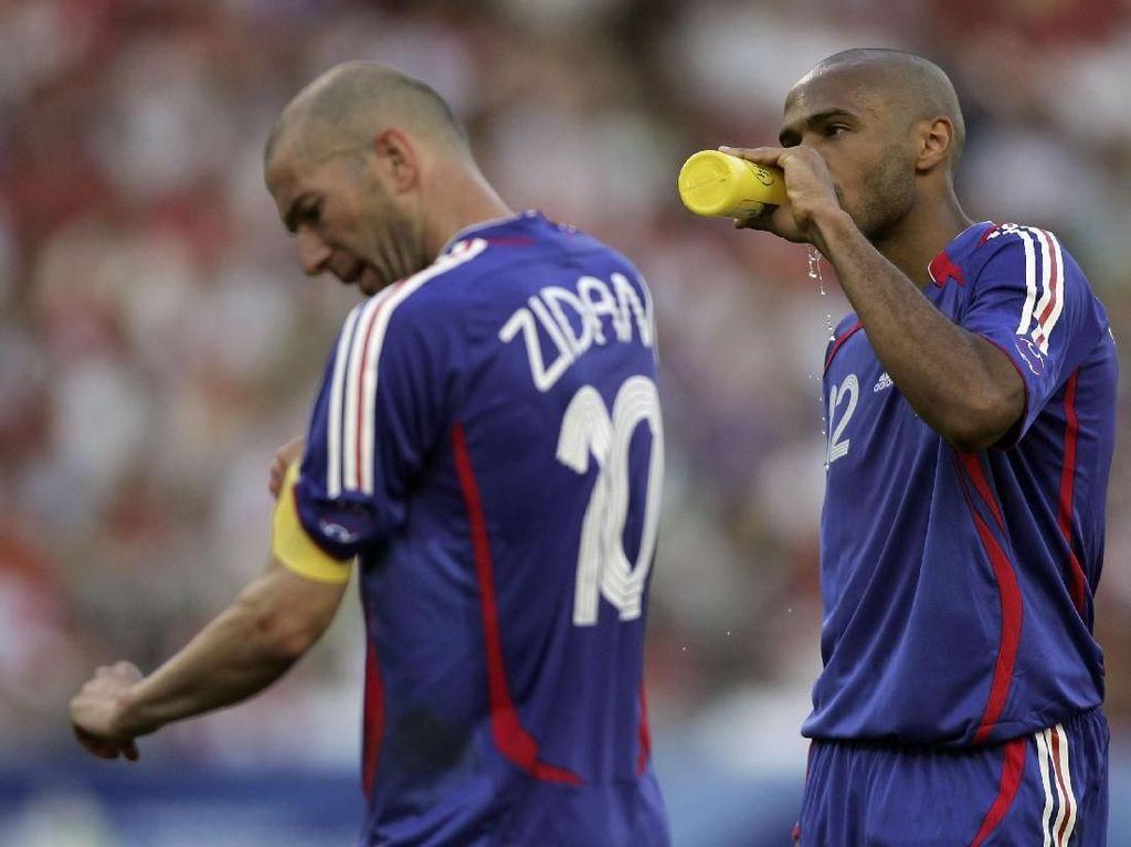 Bisakah Henry Sesukses Zidane dan Deschamps?
