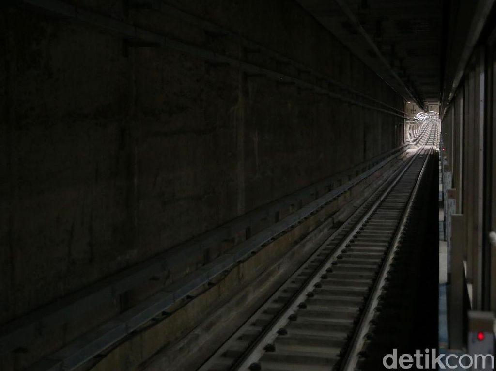 Hampir Rampung, Ini Stasiun Bawah Tanah MRT Jakarta di Senayan