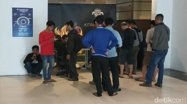 Suporter Mulai Antre Tiket Laga Indonesia vs Taiwan