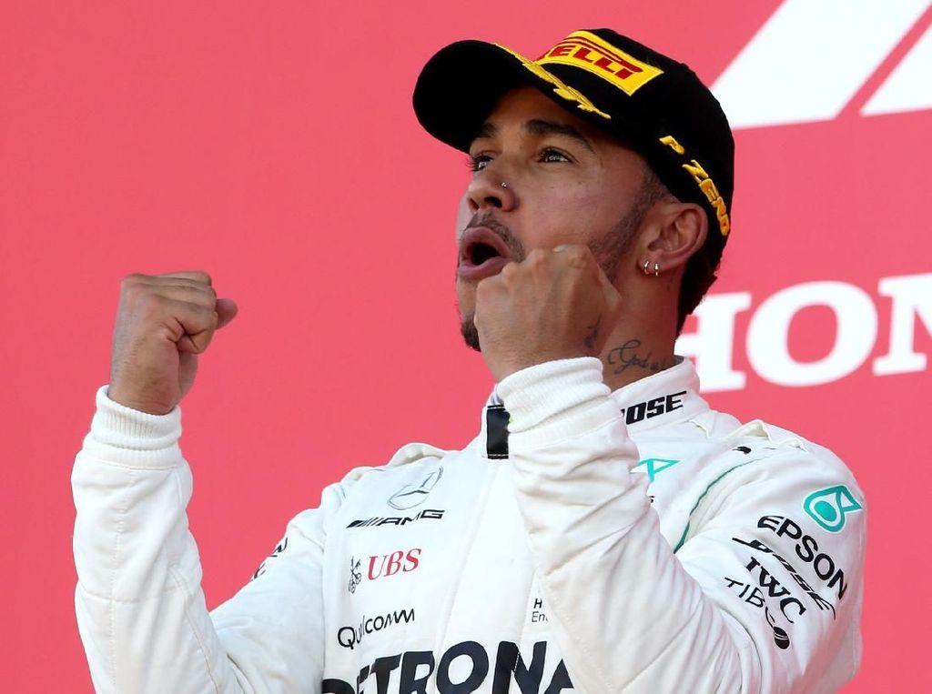 Peluang Hamilton Kunci Gelar Juara di GP Amerika Serikat