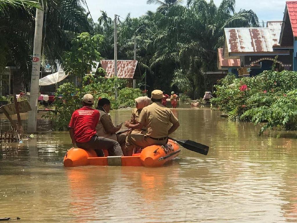 Banjir Landa 3 Desa di Pidie Aceh