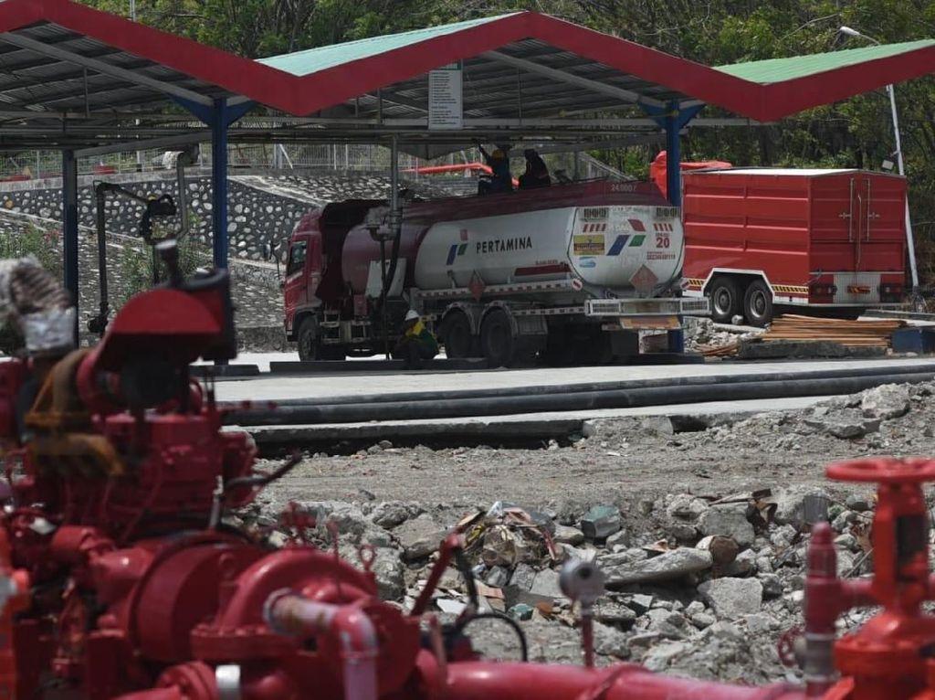 Pascagempa, Pertamina Pulihkan Infrastruktur Terminal BBM Donggala