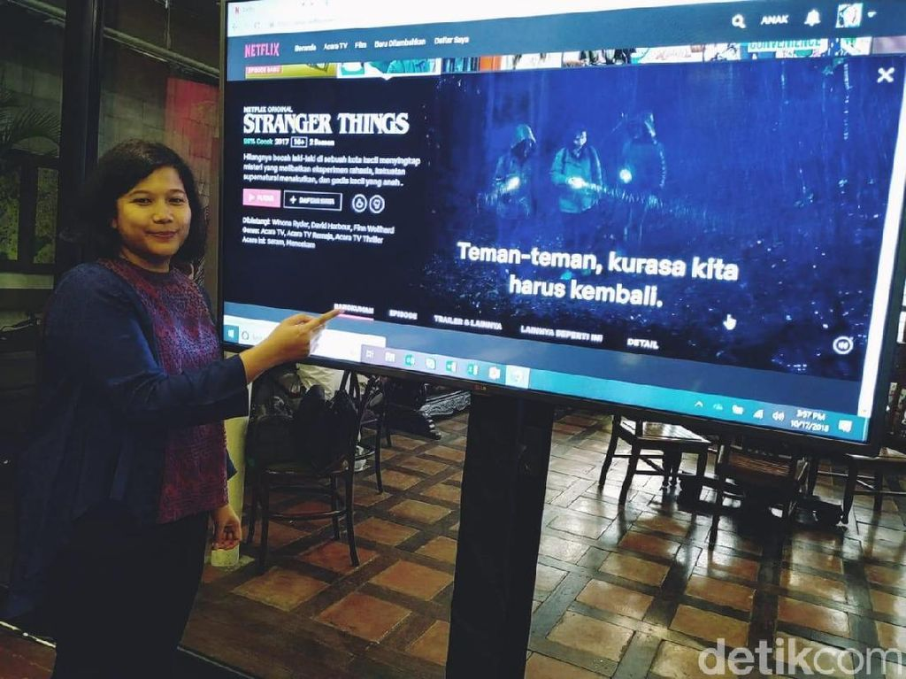 Netflix Kini Berbahasa Indonesia