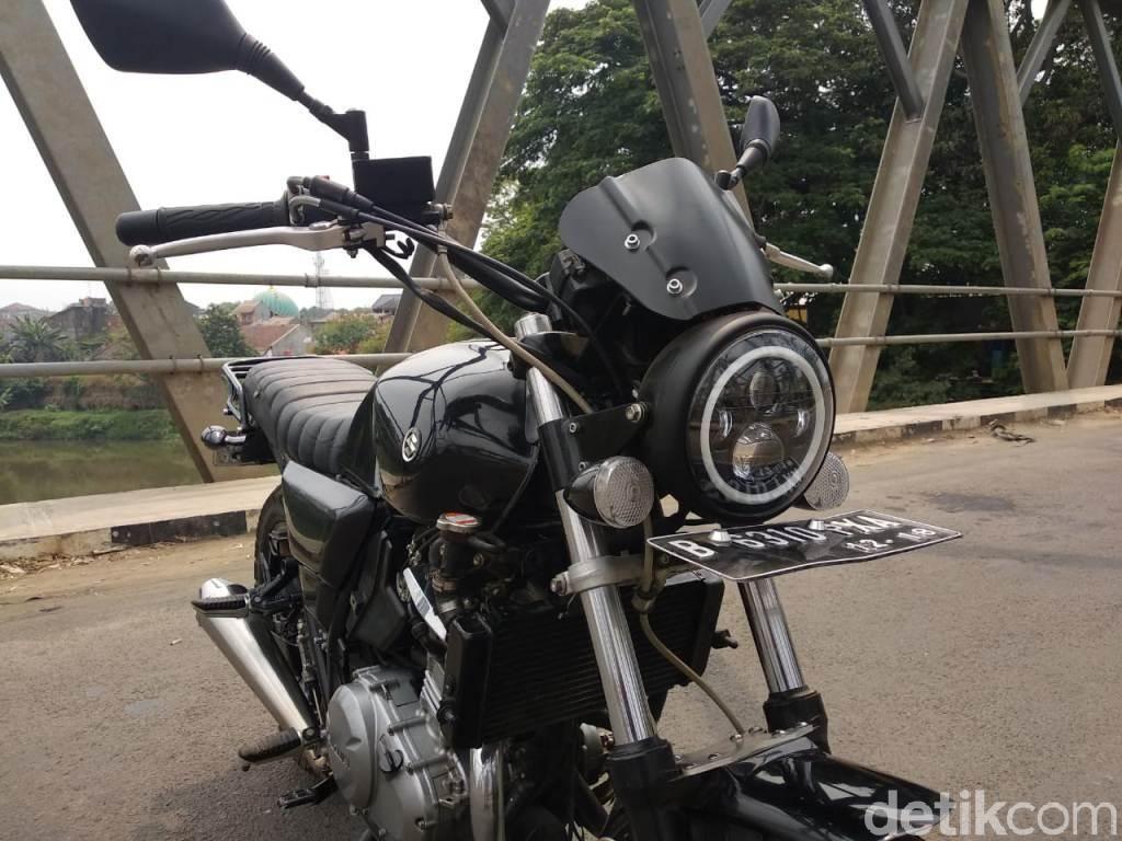 Suzuki Inazuma 250 Bergaya Scrambler
