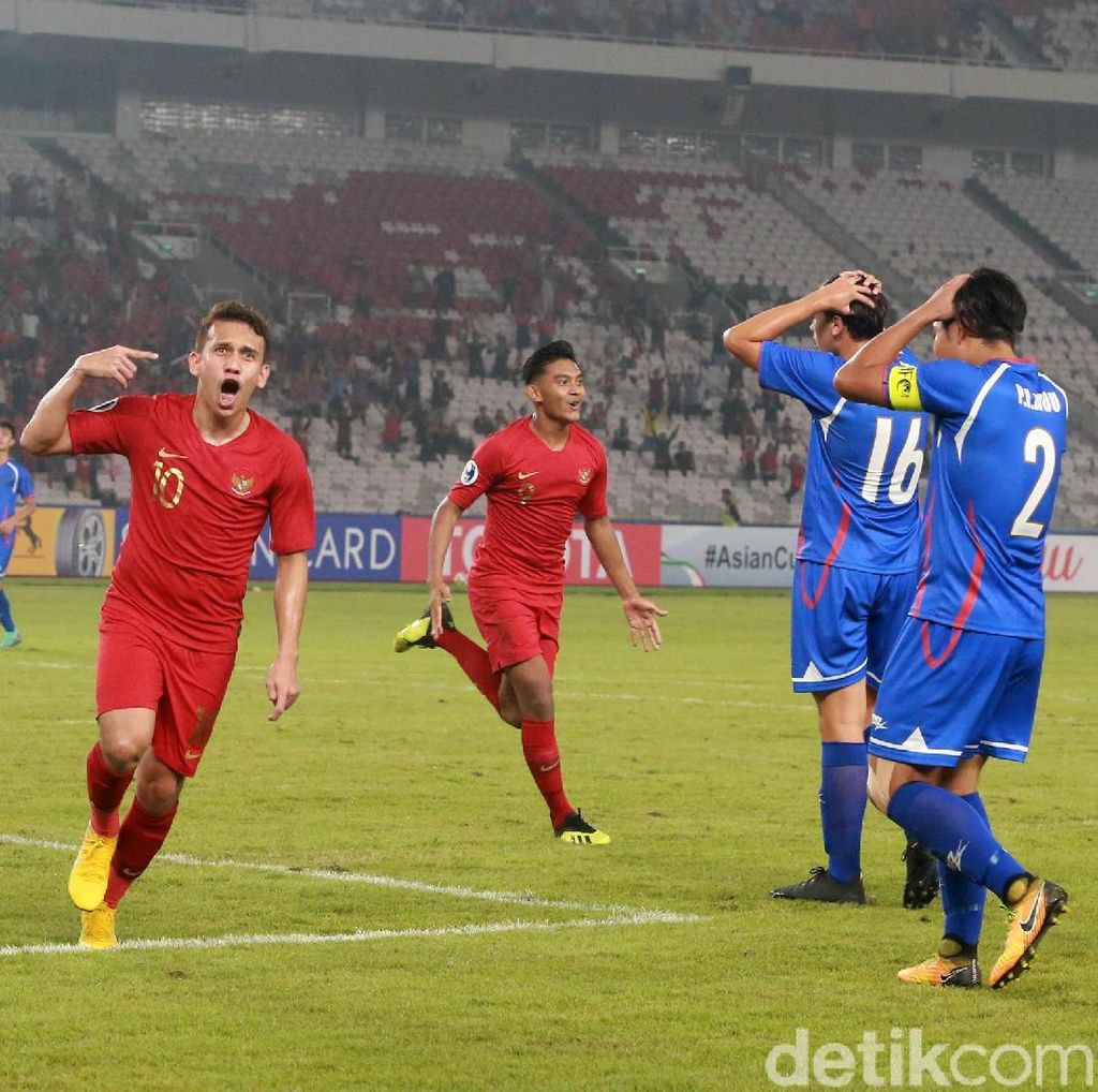 Klasemen Piala Asia U-19: Indonesia Pimpin Grup A