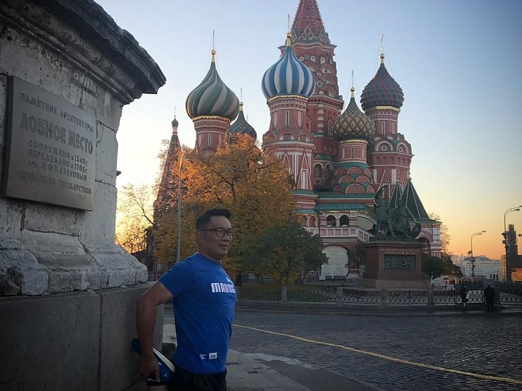 Mengenal Red Square di Moskow, Tempat Ridwan Kamil Jogging