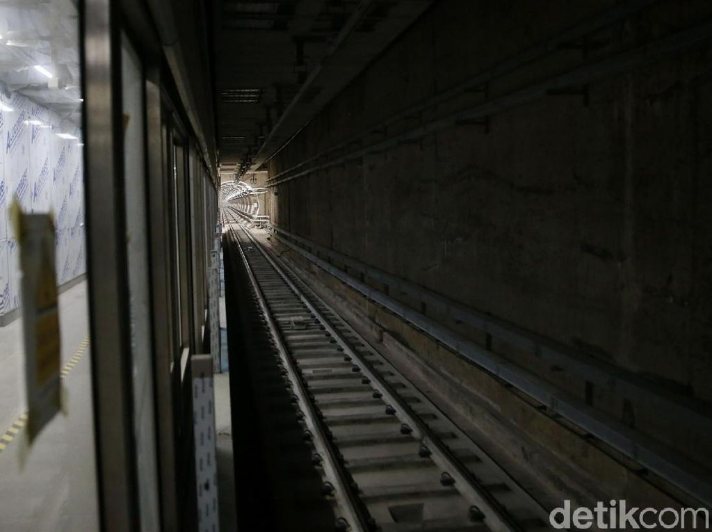 Video: Menengok Interior Stasiun Bawah Tanah MRT Senayan