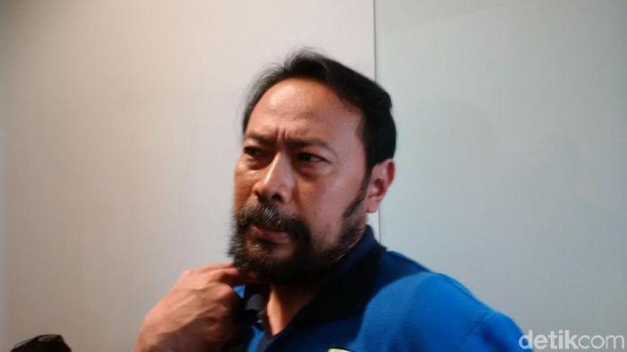 Perwakilan Manajemen Persib, Budi Bram (Mochamad Solehudin/detikSport)
