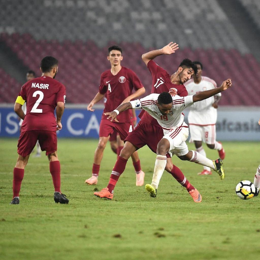UEA Kalahkan Qatar di Laga Perdana Piala Asia U-19, Pelatih Puas