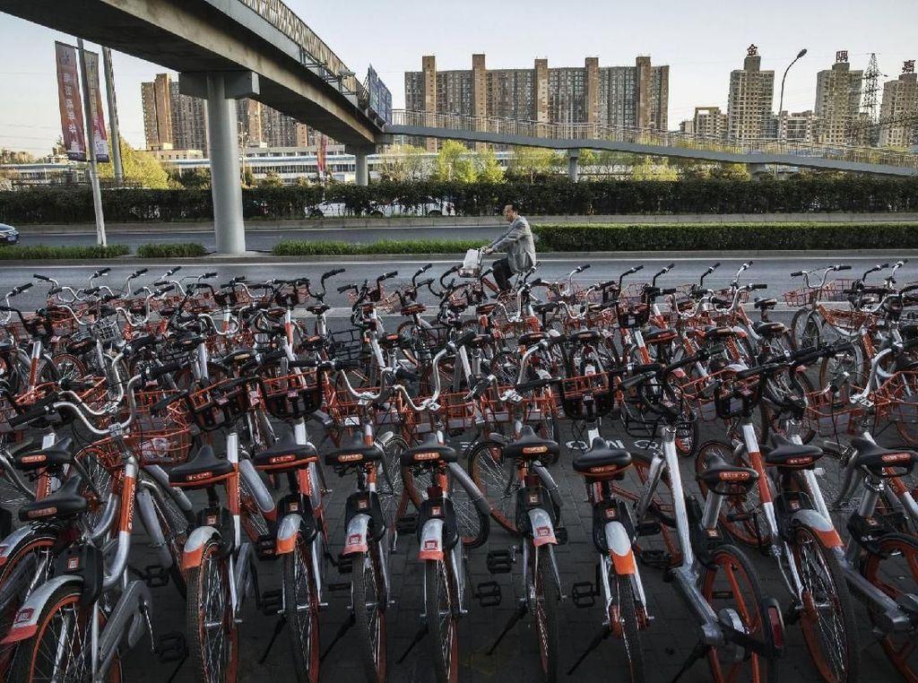 Kasihan, Startup Ini Kehilangan 200 Ribu Sepeda