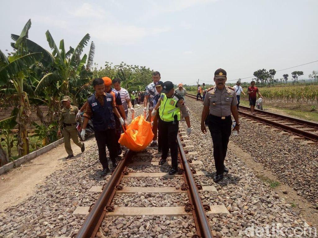 Depresi, Seorang Wanita Sengaja Tabrakkan Diri ke KA di Grobogan