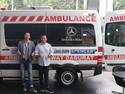 Ambulans Ini Cocok untuk di Jalanan Macet