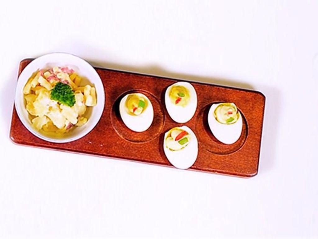 Resep Canape Telur, Praktis dan Sarat Protein