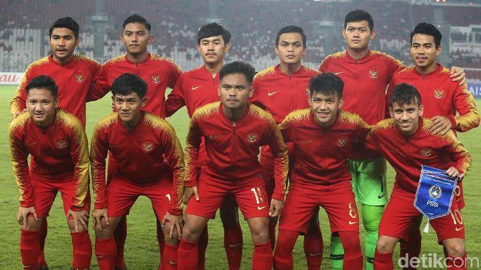 Pemain Timnas Indonesia U-19. (Foto: Ari Saputra/detikSport)