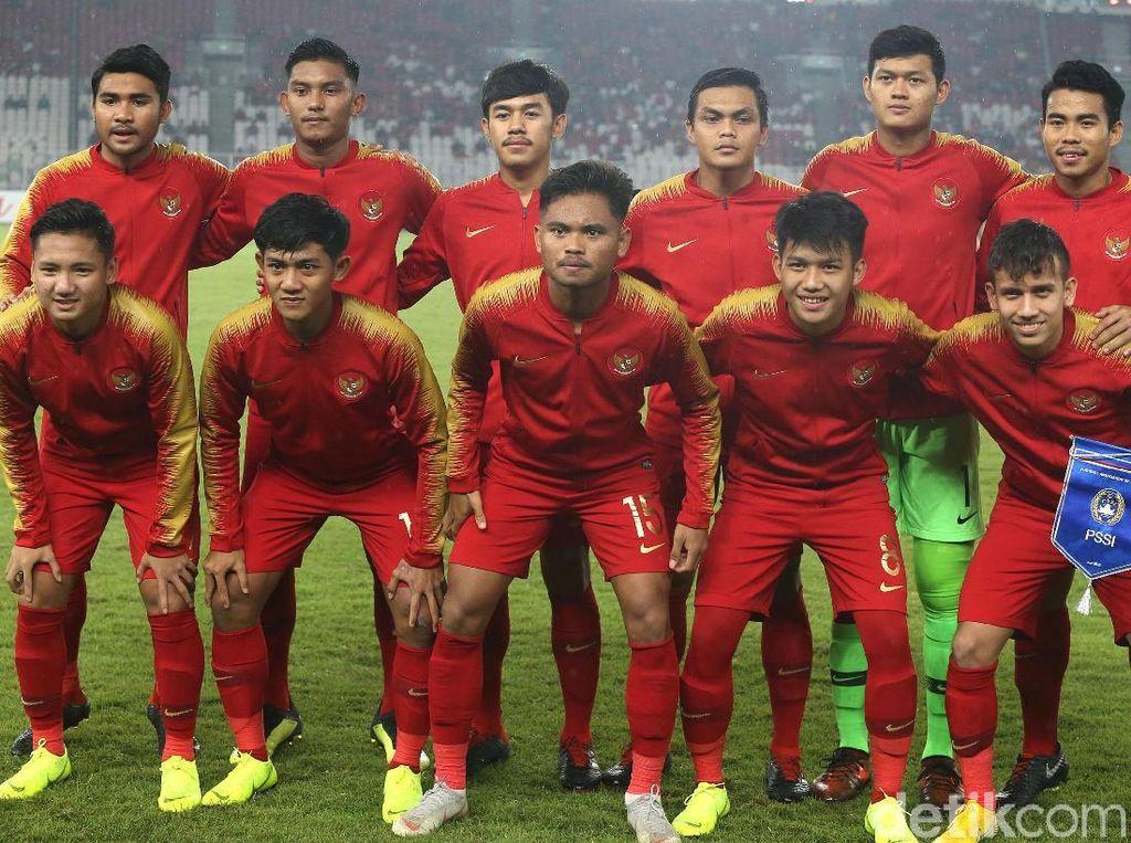 Babak I Indonesia VS UEA: Gol Witan Bawa Garuda Muda Unggul 1-0