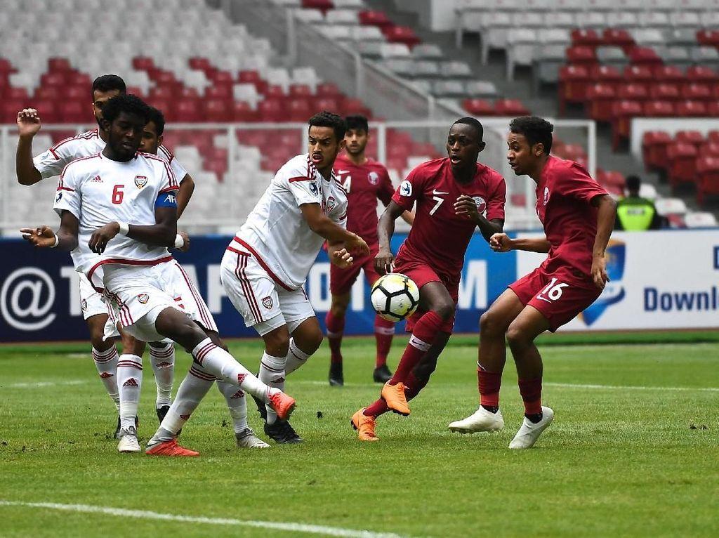 Pelatih Qatar dan UEA di Piala Asia U-19: Rumput GBK Buruk