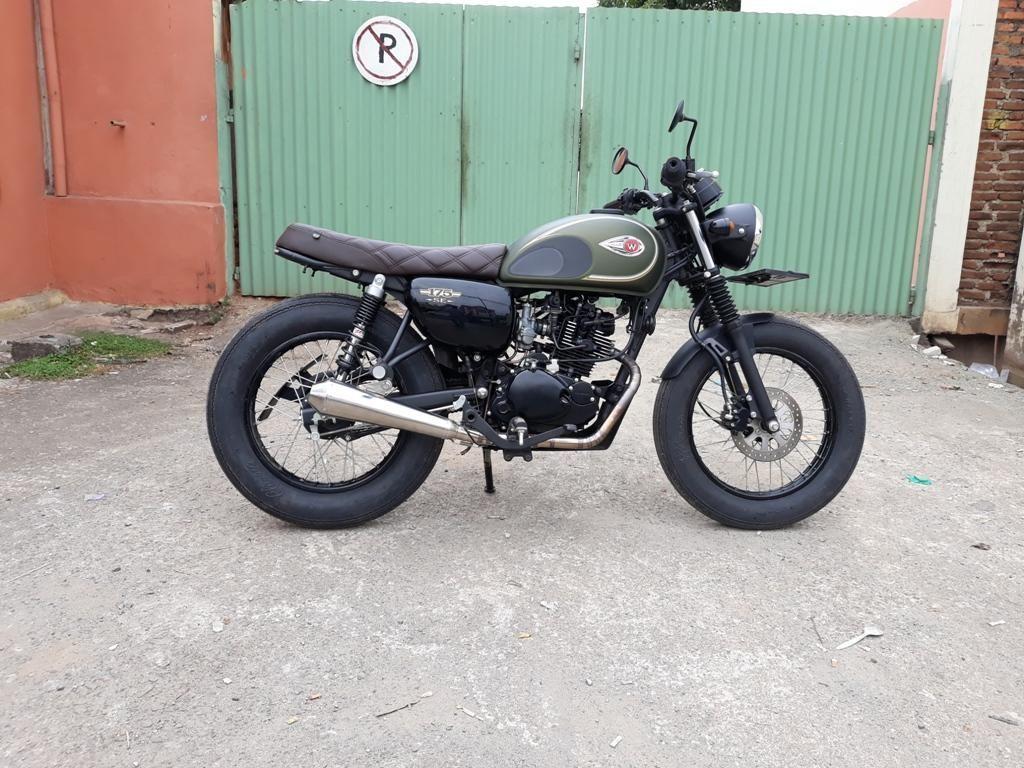 Paket Modifikasi Ringan Buat Kawasaki W175, Mulai Rp 6 Jutaan
