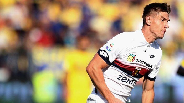 Pertandingan melawan Juventus jadi ujian untuk ketajaman Krzsyztof Piatek (Foto: Paolo Bruno/Getty Images)