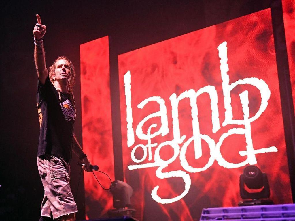 Nonton Konser Dilarang Moshing, Vokalis Lamb of God: Payah!