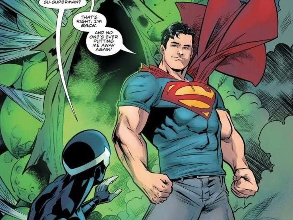Superman Jadi Presiden di Bumi?