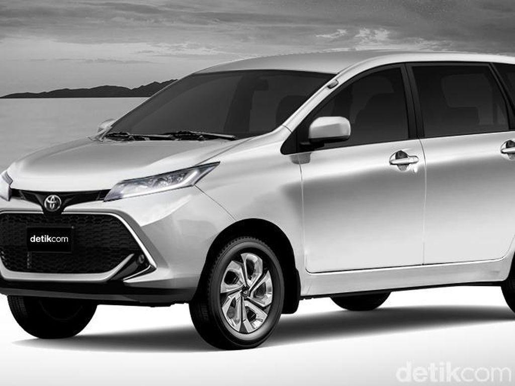 Wujud Toyota Avanza 2019 ala detikOto, Keren Kan?