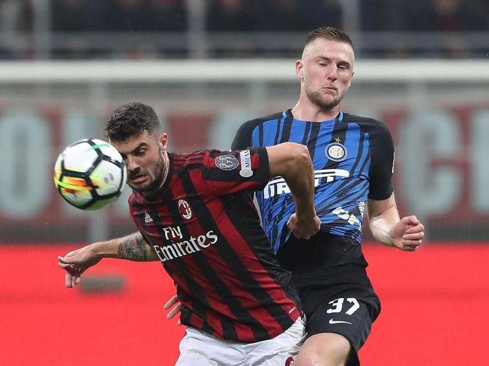 Inter akan menjamu Milan di Giuseppe Meazza, akhir pekan ini. (Foto: Marco Luzzani/Getty Images)