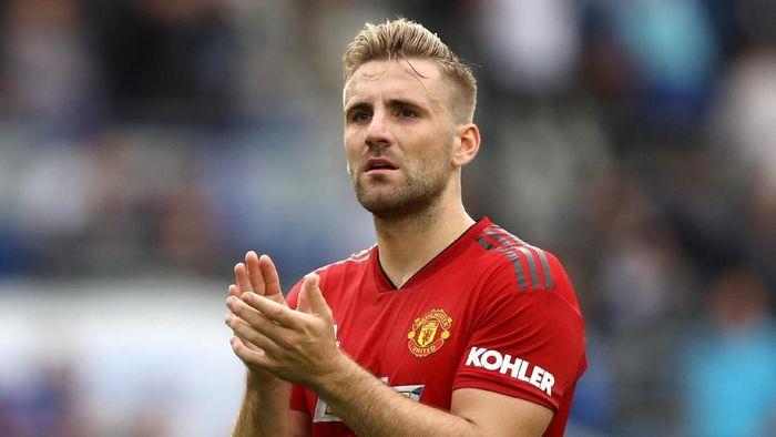 Kontrak Luke Shaw di Manchester United diperpanjang hingga 2023 (Dan Istitene/Getty Images)