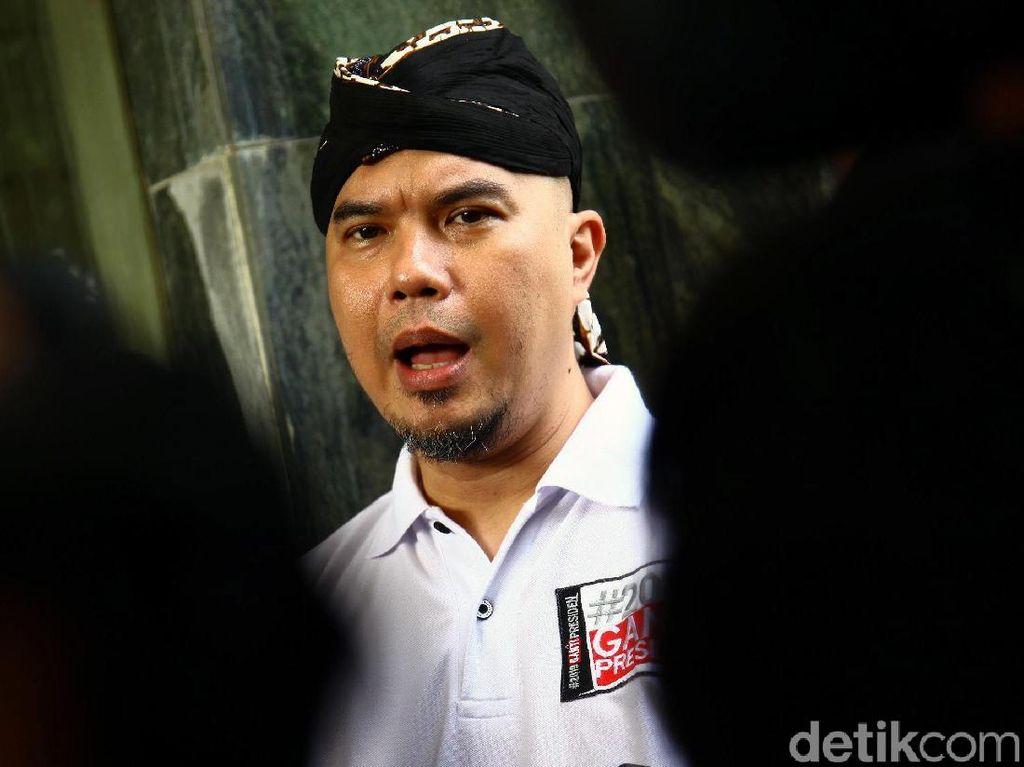 Mengaku Dipersekusi, Ahmad Dhani Lapor ke Bareskrim