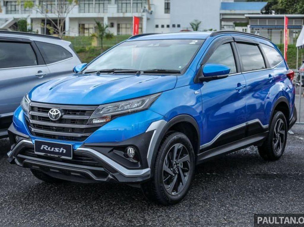 Kenapa Toyota Rush di Indonesia Tak Punya Fitur Ini?