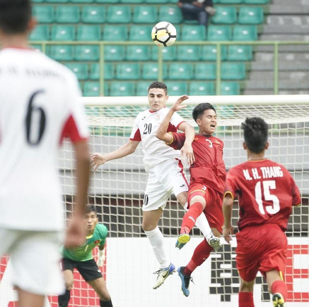 Takluk dari Yordania, Vietnam Pesmisitis ke Perempatfinal Piala Asia U-19