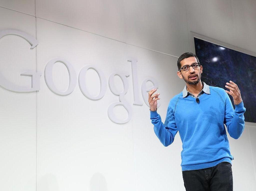 Bos Google Kok Malah Ditanyai soal iPhone oleh DPR AS?