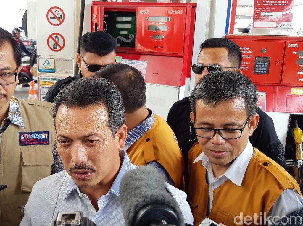 Pengelola SPBU Jalan Riau dan Kircon Bandung Bantah Kurangi Meteran