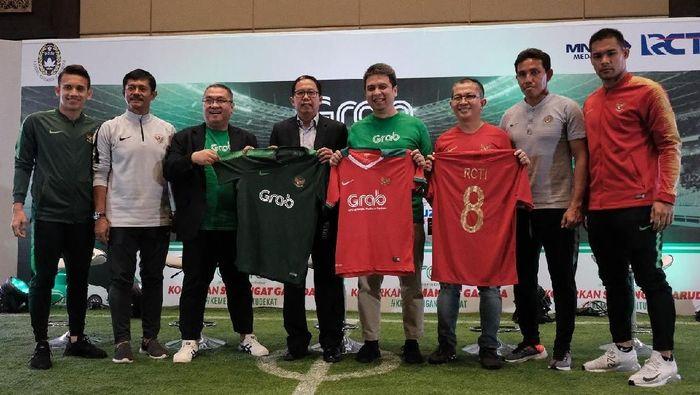 Timnas Indonesia menjalin kerja sama dengan Gran Indonesia. (Grab Indonesia)