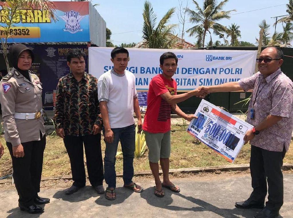 SIM Online Gratis untuk Korban Bencana