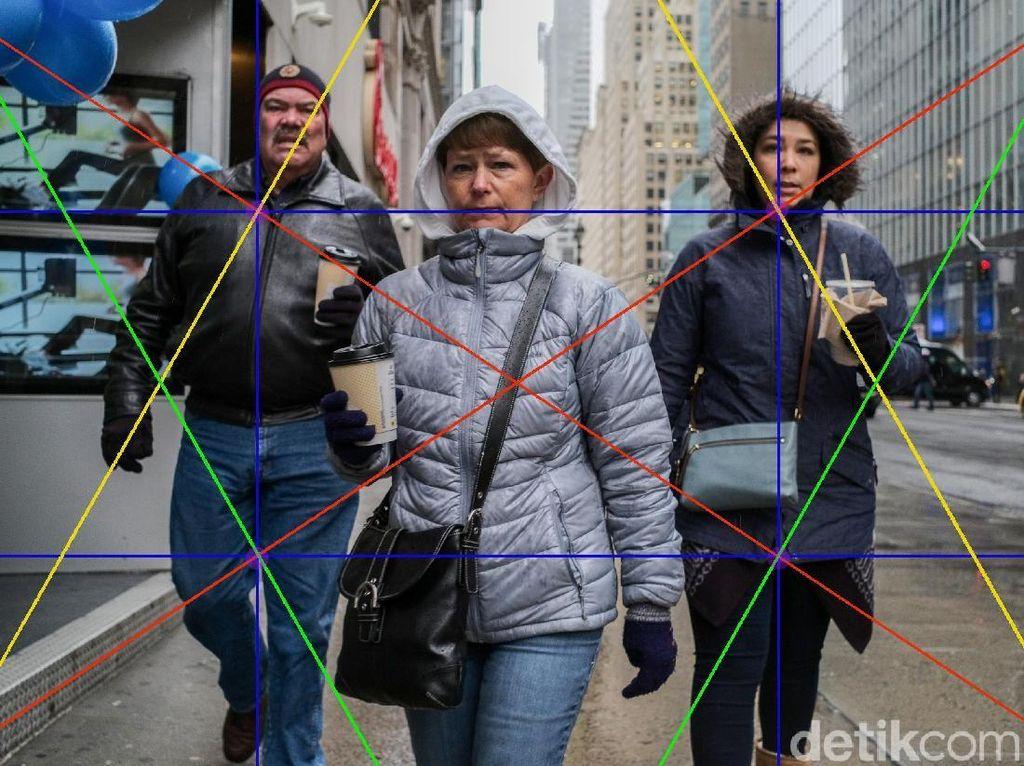 Menerapkan Diagonal Barok untuk Memilih Foto yang Tepat